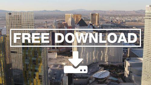 Time-lapse Las Vegas sunrise