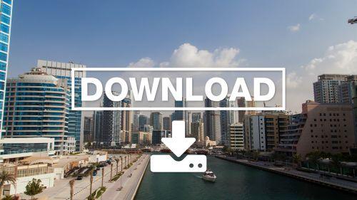 Dubai Marina hyperlapse