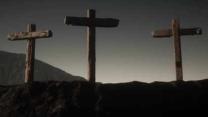 Religion Prayers and Crucifixes Footage