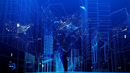 Backgrounds Digital Networks Footage