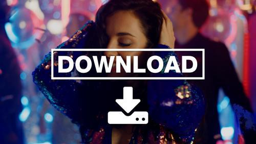 Beautiful Woman Dancing Clubbing in Nightclub Videos